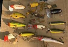 New listing 14pc Lot Vintage Fishing Lures Arbogast Jitterbug Cordell Dalton Heddon Unknown