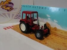"Busch 51302 # Belarus MTS 82 Traktor "" Exportversion "" in rot-weiß 1:87 NEU"