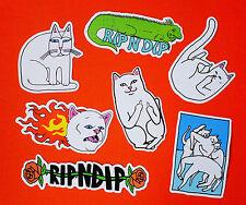 SET OF 7 Rip N Dip Lizard Rose Fire Cats ripndip Waterproof PVC Decal Stickers