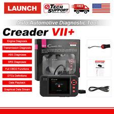 LAUNCH X431 Creader VII+ Diagnostic OBD2 Scanner Code Reader Tool Airbag ABS SRS