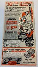 1950 Gillette Razors Ad ~ Phil Rizzuto