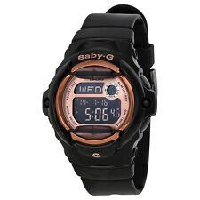 Casio Baby G Digital Dial Black Resin Ladies Watch BG169G-1CR
