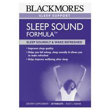 Blackmores Sleep Sound Formula 24957 Tablets 30 Cincotta Chemist