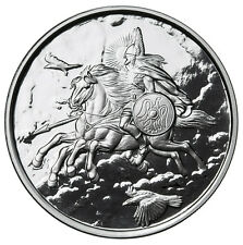 1 OZ SLEIPNIR PROOF .999 Silver w/ COA NORDIC CREATURES #3 VIKING VALKYRIE