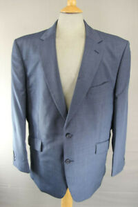 BRAND NEW PURE WOOL BLUE JACKET: 48 INCH CHEST XXL (REGULAR FIT)