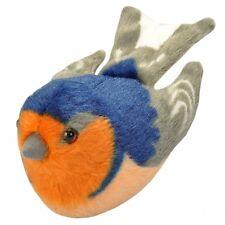 BARN SWALLOW Audubon Bird with real call PLUSH stuffed animal Wild Republic