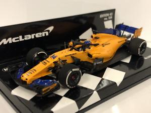 Minichamps 537184314 McLaren MCL33 F. Alonso 2018 Resin 1:43