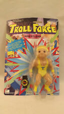 Vtg Troll Force Big T Wrestler  Sealed on Card Toys-N-Things