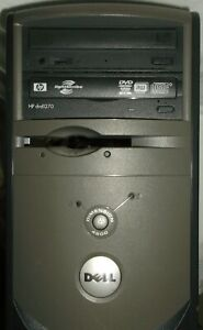 DELL DESKTOP TOWER DIMENSION 4600 WINDOWS XP AS-IS PARTS PC COMPUTER REPAIR
