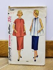 Vintage 1950-60 Simplici Sewing Pattern #4560 Junior Misses Women size 14