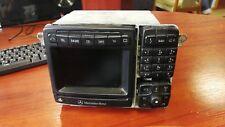 MERCEDES S-CLASS W220 NAVIGATION SYSTEM COMMAND HEAD UNIT RADIO A2208203789