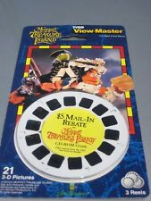 View-Master 3 reel pack Muppets Treasure Island Variation promotional sticker