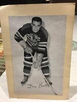 1945/64 Group 2 Beehive Hockey Photo Doug Bentley Chicago Blackhawks