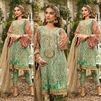 Pakistani Maria B Designer Suit Wedding Dress Collection shalwar Kameez Embroidr