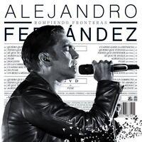 Rompiendo Fronteras - Fernandez Alejandro CD & DVD Set Sealed ! New !