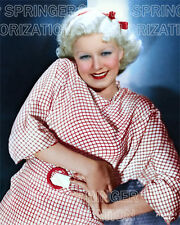 JEAN HARLOW CHECKERED DRESS 5 DAYS 8X10 BEAUTIFUL COLOR PHOTO BY CHIP SPRINGER