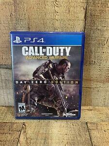 Call Of Duty: Advanced Warfare- Day Zero Edition (Playstation 4, 2014)