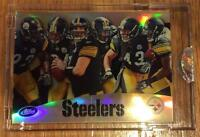 2010 Pittsburgh Steelers Team Etopps 1 of 859 Cards Roethlisberger Polamalu Ward