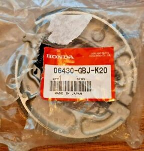 HONDA CBF125 2009-2013 GENUINE REAR BRAKE SHOE P.N: 06430GBJK20