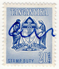 (I.B) KUT Revenue : Tanganyika Stamp Duty 20c