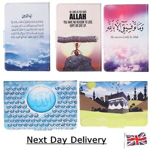 New Tablet Case stand up Cover ~ Sentimental Theme Holy Quran 99 Names Of Allah