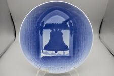 Bing & Grondahl – B&G – Annual Christmas Plate – Church Bell At Christmas – 1900