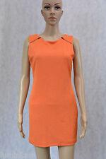 **MINKPINK** BNWT $80 Orange Dress M 12 10 Sheath Zipper Office Party Career