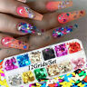 Nail Art Butterfly Glitter Sequins Nail Decor Holographic Laser 3D Flakes Hot