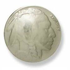 """Indian Head Nickel Concho 7/8"""" Tandy Leather 7093-01"""
