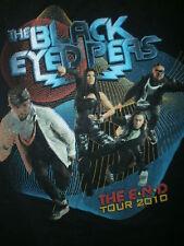 BLACK EYED PEAS CONCERT T SHIRT End 2010 Tour FERGIE Wyclef Jean LMFAO Adult MED