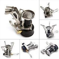 Outdoor Mini Portable Gas Butane Backpack Propane Canister Camping Stove Burner