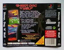 ***BACK INLAY ONLY*** Sheep Dog N Wolf Playstation One 1 PSOne PS1 PS