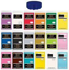 Redondo Mantel de plástico (213cm) - Liso Colores TÍPICOS Fiesta Cumpleaños