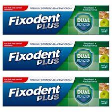 3 Fixodent Plus Double Protection denture adhésif crème
