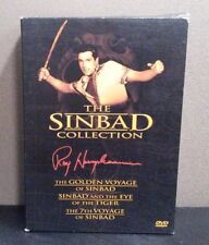 Sinbad Collection;7th Voyage / Golden Voyage / Eye of the Tiger  DVD   LIKE NEW