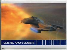 Star Trek Voyager Quotable USS Voyager Chase Card V4