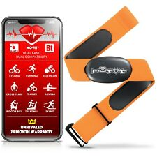 Heart Rate Monitor Strap for Garmin, Apple, Android, ANT+ and Most Bluetooth 4.0