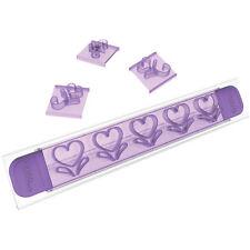 Stampi imprimi decori Wilton set 19 decora cuori per bordi dolci torta - Rotex