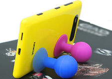 Cell Phone Mobile Suction Rubber Sucker Spherical Ball Stand Mount Hold Green