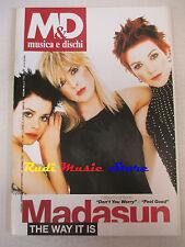 Rivista M&D MUSICA E DISCHI 636/2000 Madasun Eros Ramazotti Jovanotti U2 No cd