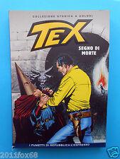 fumetti tex n. 103 collezione storica a colori segno di morte fumetti repubblica