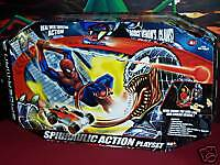 SPIDERMAN 3 SPIDRAULIC ACTION PLAYSET