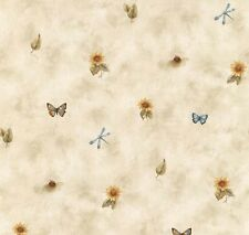 SUNFLOWERS BUTTERFLY Wallpaper BG21520