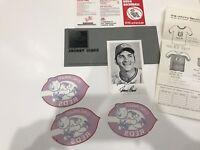 Johnny Bench Autographed Post Card 1978 Cincinnati Reds