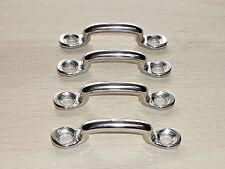4 St. Gurtbügel für Gurtbreite bis 25mm Edelstahl Zurrbügel Riemenbügel