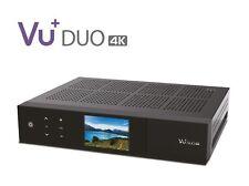 Vu + Duo 4K 1 x DVB-S2X Fbc Twin Tuner Pvr Ready Linux Receiver Uhd 2160p