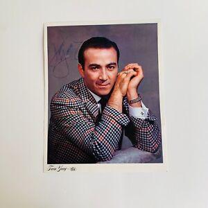 Faron Young Autographed 8x10, Vintage