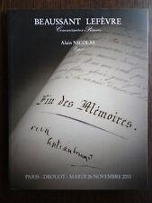 Catalogue de vente Bibliotheque du Chateau de Boussay Theophraste Renaudot