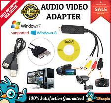 VHS to DVD Capture Card Device TV Digital Converter Windows 7 USB 2 0 VHS VCR