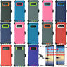 For Samsung Galaxy Note 8 Defender Case Cover w/ Tempered Glass Screen Protector